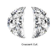 Gs Diamonds Ltd Half Moon Diamonds Shape Half Moon Cut